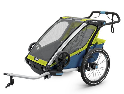 Thule-Chariot Sport2, Chartreuse / Mykonos