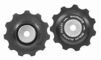Shimano Leitrollenset XT ab 2008 Top- und Low-Normal 9-fach Y-5W598080 Ausverkauft !