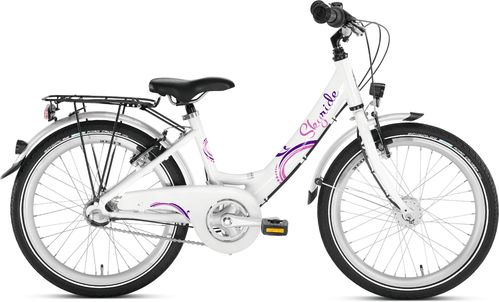 Puky Skyride 20 Alu 3-Gang Wave weiss-pink 30cm