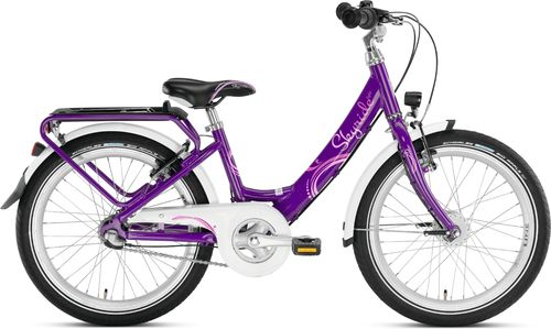 Puky Skyride 20 Alu Light 3-Gang Wave lila 30cm