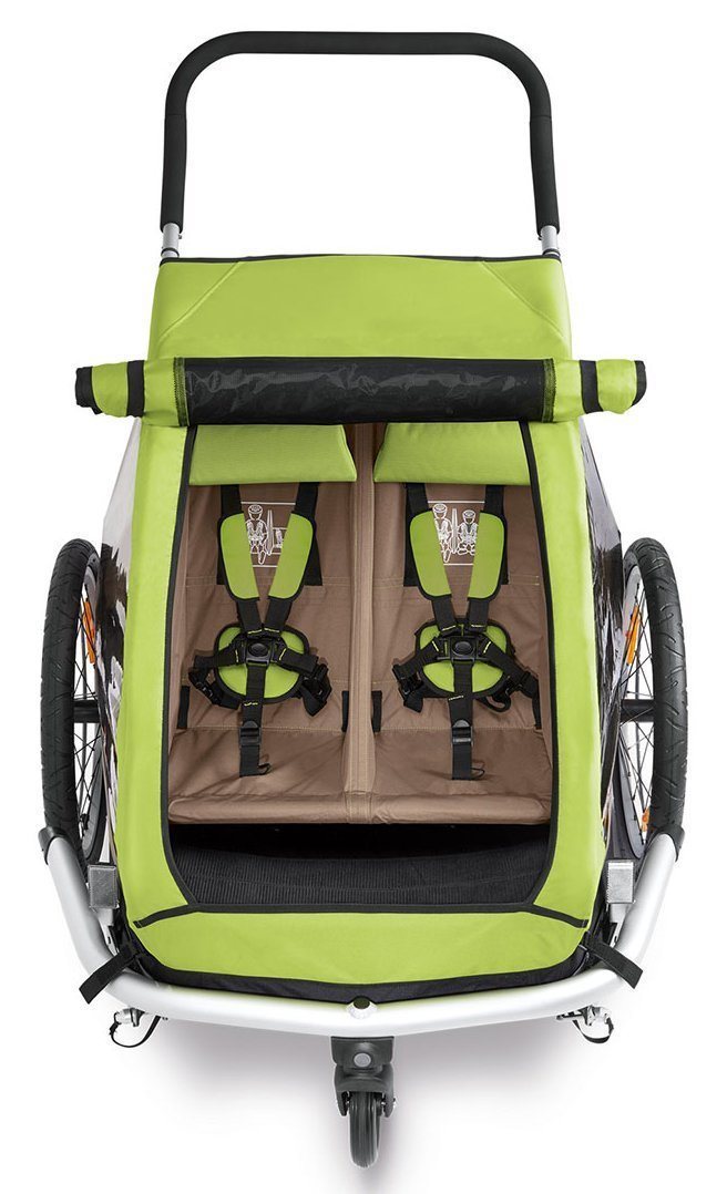 croozer kid for 2 ab 2016 mit buggy und joggerset. Black Bedroom Furniture Sets. Home Design Ideas