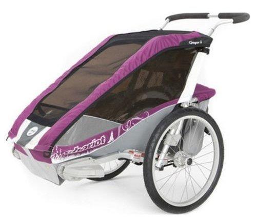 chariot cougar 1 2012 2013 purple grau silber basis ohne. Black Bedroom Furniture Sets. Home Design Ideas