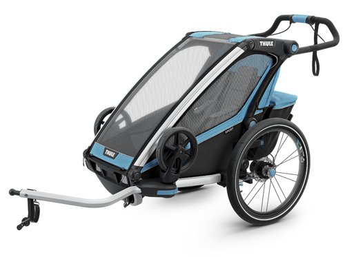 Thule-Chariot Sport1, Blue / Black