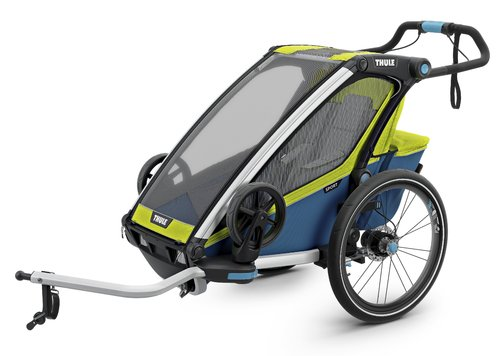 Thule-Chariot Sport1, Chartreuse / Mykonos