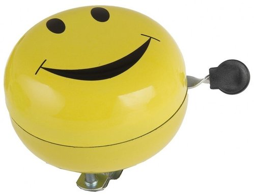 M-Wave 2-Klang 80mm Smiley gelb