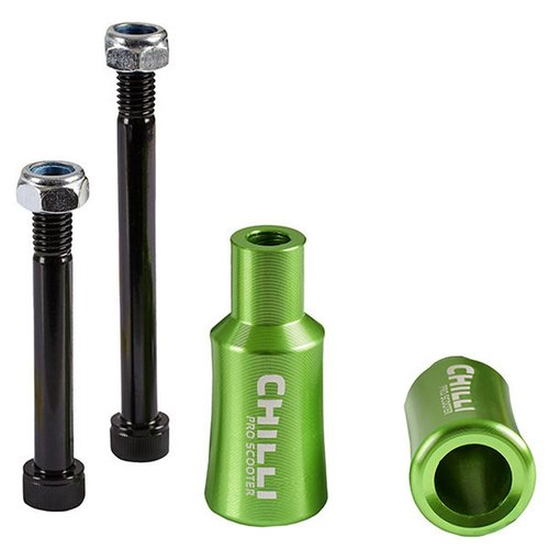 Chilli Pro Scooter Pegs barrel green