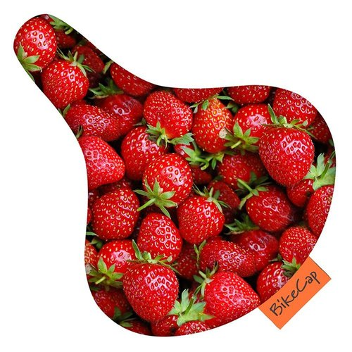 Bikecap Überzug-Design Strawberries