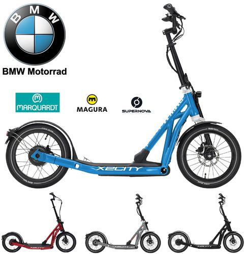 BMW X2City E-Scooter