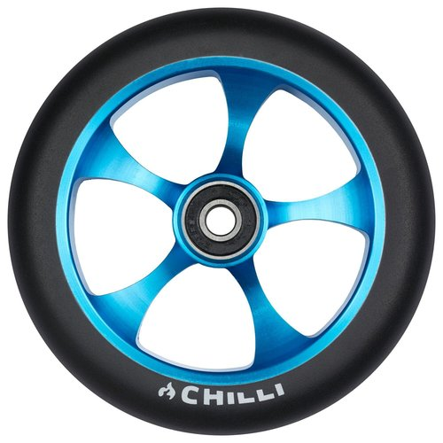 Chilli Pro Scooter Ersatzrolle Wheel Reaper-Reloaded Ghost 120mm black PU / blue core