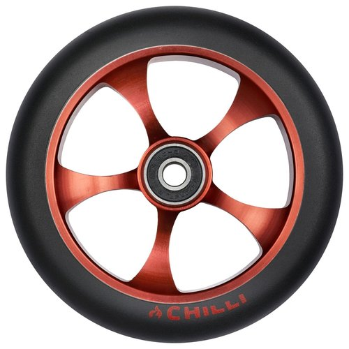 Chilli Pro Scooter Ersatzrolle Wheel Reaper-Reloaded Ghost 120mm black PU / copper core