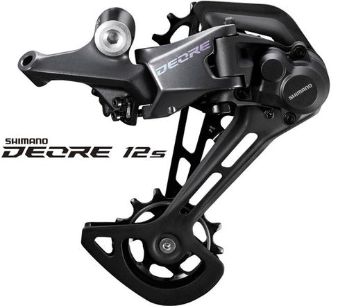 Shimano Deore RD-M6100 ab 2021 12-fach / 1-fach Shadow-Plus long cage